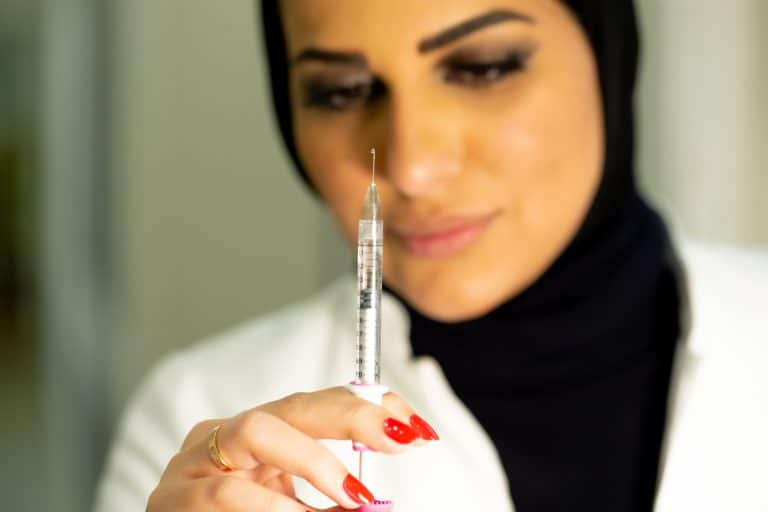 dr nouf about chin filler
